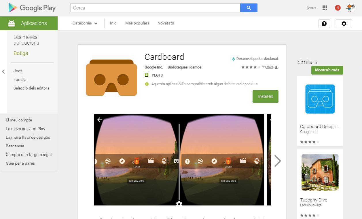 carboard app