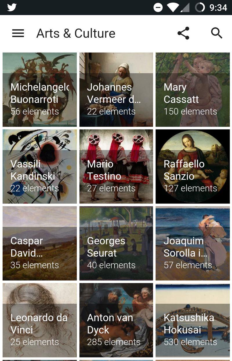 art & culture app